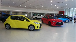 Pacific Toyota - New Vehicle Showroom